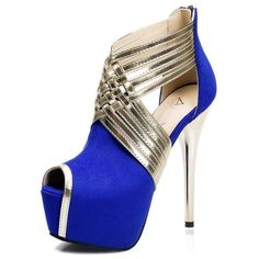 Cheap high heel wedding shoe, Buy Quality wedding shoes black directly from China wedding shoes Suppliers: 2017 Fashion Women Pumps Flock Super Heels Party Shoes Woman Peep Toe Nightclubs High Heels Wedding Shoes Black Grey Blue Blue Heels, High Heels Stilettos, Women's Pumps, Stiletto Heels, Black Shoes, Gladiator Heels, Platform Stilettos, Spike Heels, Heeled Sandals
