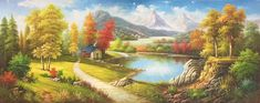"""ID=451; size:70x180cm(30""""x72""""inch); 100% hand-made oil painting,decoration,murals,Art,Home Decor,Wall Decor,Abstract,Simple,modern,canvas; #OilPaintingSimple"""