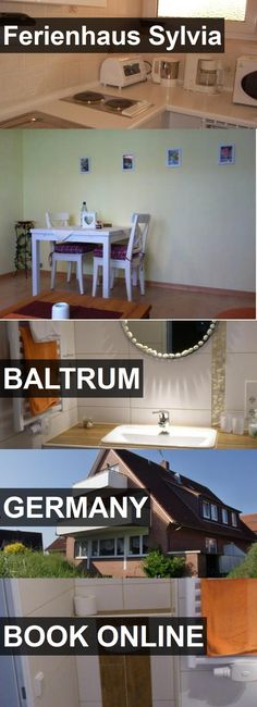 Hotel Ferienhaus Sylvia in Baltrum, Germany. For more information, photos, reviews and best prices please follow the link. #Germany #Baltrum #travel #vacation #hotel
