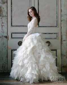 2015 BRIDAL GOWNS   Sareh Nouri Spring 2015 Wedding Dresses