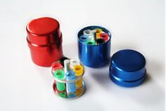 2pcs Dental Endo Organizer Container 6 Paper Gutta Percha Aluminum Endodontic #Ruier