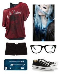 """""""Black Widow"""" by s-bia ❤ liked on Polyvore featuring Converse, MANGO, Muse, women's clothing, women's fashion, women, female, woman, misses and juniors"""