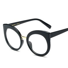 Fashion Women Cat Eye Sunglasses Brand Designer Oversized New Vintage Round Sun Glasses Coating Mirror Eyewear Oculos MA163