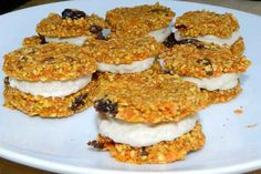 Raw Mini Carrot Cakes