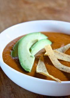 Helyn's Healthy Kitchen: Tortilla Pinto Bean Soup