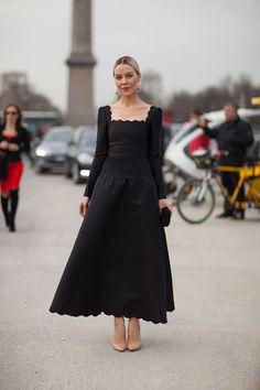 Street Style Fall 2013: Paris Fashion Week- Ulyanna Sergeenko