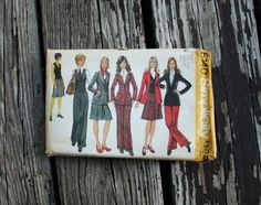 Simplicity 5140 1970s 70s Business Wardrobe by EleanorMeriwether