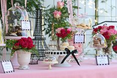 Glorious Treats » {Parties} Desserts in Paris