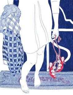 ♥ Mademoiselle Mo ♥ - Carine Brancowitz, une illustratrice hors pair