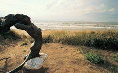 noordwijk beach sculpture
