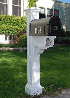mailbox post | Charleston Plus Mailbox Post