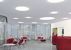 TZ-T LED recessed luminaires designed for frame-free installation in plasterboard ceilings