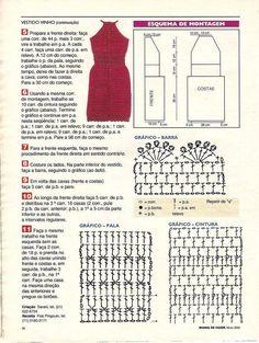 Hoje vamos dar uma excelente dica para que você possa ter estilo e se sentir mais leve, com o vestido de crochê é claro, uma peça que traz praticidade, est