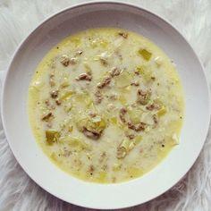 NinaMarleen: Käse-Lauch-Suppe