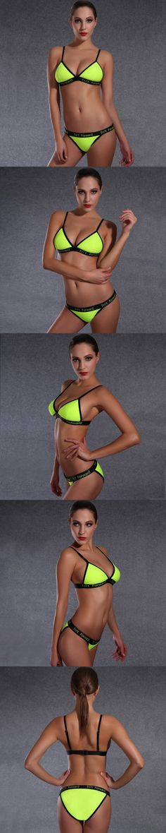 4a2af93507 2016 Sexy Young Girl Bikini KJD1641 XL Fashion Biquinis Low Waist Bathing  Suit Brand Yellow Swimsuit