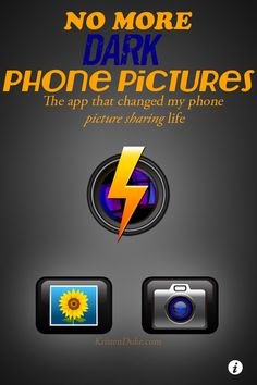 No More Dark Phone Pictures | KristenDuke.com the app that will change your phone photos #photography #tip