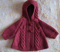 Ravelry: 675 cape et moufles pattern by Bergère de France