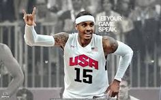Let your game speak - Carmelo Anthony Poster Prints, Let It Be, Image Link, Basketball, Note, Silk, Amazon, Amazons, Riding Habit