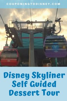 Take this Disney Skyliner Self Guided Dessert Tour to try desserts all around Disney World! Disney World Food, Disney World Planning, Walt Disney World Vacations, Disney World Resorts, Cruise Vacation, Disney Cruise, Disney S, Disney Parks, Caribbean Beach Resort