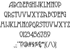 Arts and Crafts movement typography