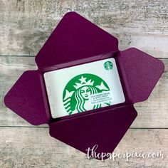 Gift Card Gift Box with Video Tutorial - The Paper Pixie Diy Card Box, Gift Card Boxes, Paper Gift Box, Paper Gifts, Paper Boxes, Gift Card Envelopes, Christmas Gift Card Holders, Christmas Cards, Holiday Cards