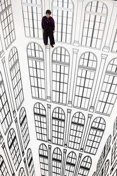 Surreal Architectural Optical Illusions : Regina Silveira