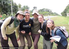 These ANTH students are ready for whatever adventures await them in Peru.
