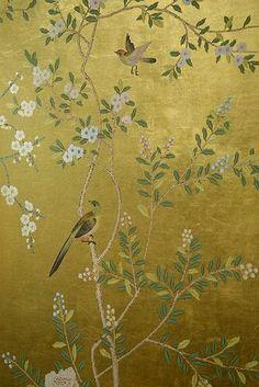 Yellow tapestry
