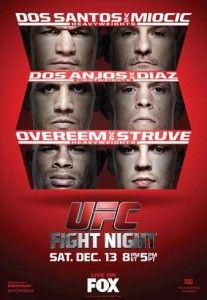 UFC on FOX 13: Dos Santos vs. Miocic Ergebnisse - Results