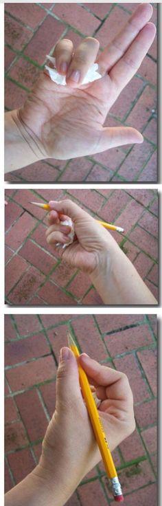 Nácvik správného držení tužky
