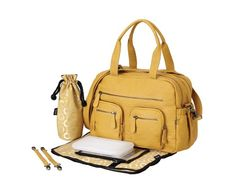 The OiOi Mustard Faux Buffalo Carry All Nappy Bag gives you a splash of colour and zest, as OiOi mix functionality with beautiful bag designs for parents. Best Changing Bag, Baby Changing Bags, Girl Diaper Bag, Diaper Bag Backpack, Nappy Bags, Carry All Bag, Wholesale Bags, Online Bags, Beautiful Bags