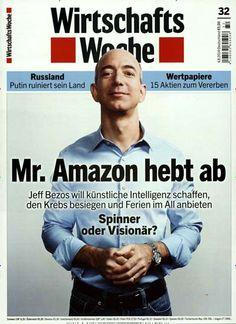 Mr. Amazon hebt ab Gefunden in: Wirtschaftswoche Nr.32/2014