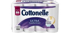 36 Family Sized Rolls of Cottonelle Ultra ComfortCare Toilet Paper (Free Shipping) $16.49 (amazon.com)