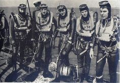 Navy Divers from the good old days ☺☺