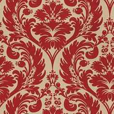 """SURAYA  RED/BEIGE  END USE:Drapery, Bedding, Pillows, Light Use Furniture, Slipcovers, Cushions  WIDTH:54""""  REPEAT:Vertical - 26.62""""  FIBER  CONTENT:55% Rayon, 45% Cotton  $39.99"""