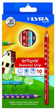 Lyra Groove Child-Grip Pencils, 4.25mm Lead Core, Set of 10 Pencils, Assorted Colors (3811100) Lyra http://www.amazon.ca/dp/B0041VW2DC/ref=cm_sw_r_pi_dp_glEewb0CD5P1Q