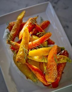 Baby Carrots with Yogurt and Dill at Local's Corner restaurant in San Francisco, Calif.