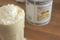 Caramelized Banana Malted Milkshake