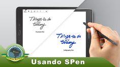 """Review 2 Samsung Galaxy Tab A 9.7"""" usando caneta SPen mais aplicativos"""