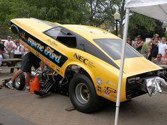 Mustang Funny Car   Flickr - Photo Sharing!
