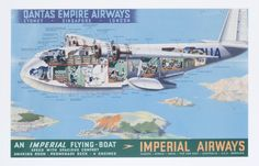 Imperial Flying Boat - Qantas Empire Airways