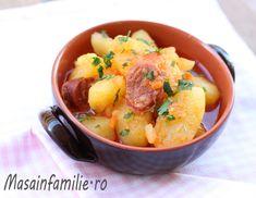 Tocanita de cartofi cu carnati chorizo, reteta mea de tocana de cartofi cu sau fara carnati. Mancare de cartofi.