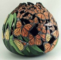Gourd Art by Janny Dangerous