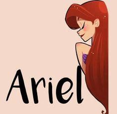 Pixar Drawing ariel - the little mermaid - Disney Pixar, Walt Disney, Disney Fan Art, Cute Disney, Disney Girls, Disney And Dreamworks, Disney Animation, Disney Characters, Image Princesse Disney