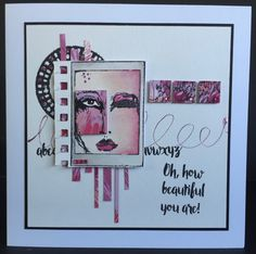 Dina's Boxed Faces by Amanda Southern | That's Blogging Crafty!