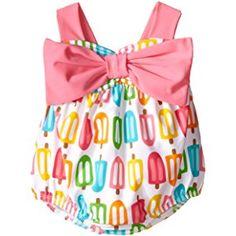 Mud Pie Baby Girls' Popsicle Swimsuit