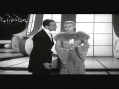 """""""Let's Face the Music and Dance"""" performed by Fred Astaire and Ginger Rogers. From the film, """"Follow the Fleet. 936"""