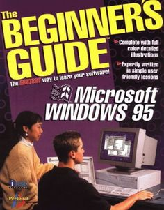 Windows The Beginner's Guide Apple Ii, Windows 95, Microsoft Windows, Techno, Software, Graphic Design, Writing, Learning, Studying
