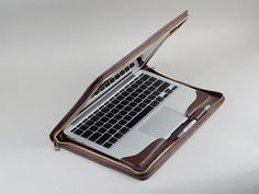 Coffee Apple Laptop Full Protection Carrying Business Briefcase Cover Case for Apple Mac book Pro and Macbook Pro with Retina