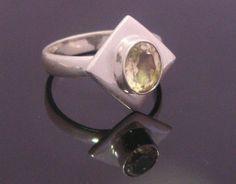 Anillo de plata esterlina con hermosa piedra por My925SilverRings
